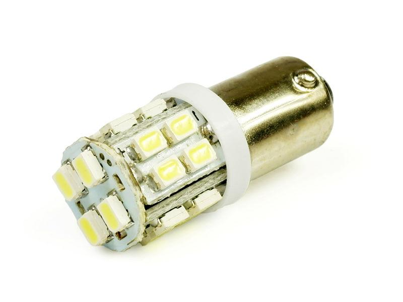 Interlook LED auto žárovka 24V LED BA9S 20SMD1206 T4W 1W